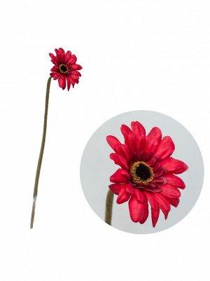 Гербера 45см цветок искусственный 1670GA