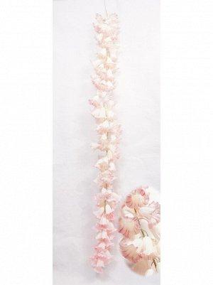 Колокольчик средний цветок 130 см цвет розовый  HS-35-11