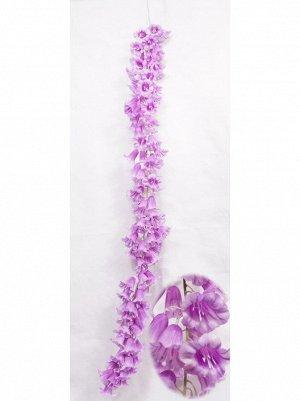 Колокольчик средний цветок 130 см цвет сиреневый  HS-35-11
