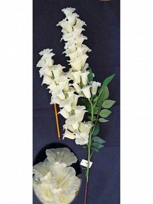 Колокольчик цветок 125 см цвет белый HS-35-7