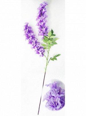 Колокольчик цветок 125 см цвет сиреневый HS-35-7