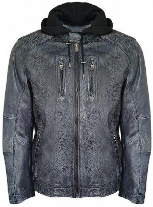 Harlow-6 Фирменная куртка известного немецкого бренда мужской одежды: ENGВERS.  Коллекция Осень/Зима 2020.   Верх - 100% натуральная овечья кожа . Основной подклад - 100% хлопок, подклад рукавов - 100