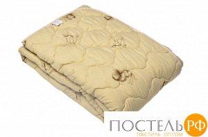 """Артикул: 222 Одеяло Medium Soft """"Комфорт"""" Camel Wool (верблюжья шерсть)  Детское (110х140)"""