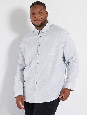 Двухцветная рубашка