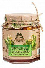 Варенье из сосновых шишек с ядром кедрового ореха 200мл