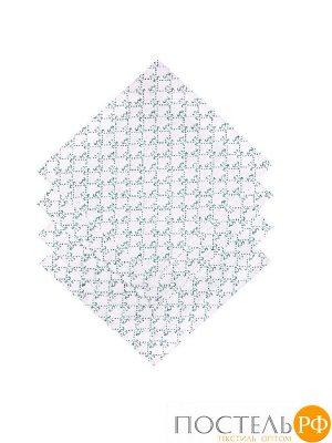 Набор салфеток Мари Санна бык Гуч (зелен.) 9696-2 Рогожка 35х35 Количество 4 шт.