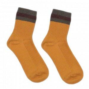 Носки Размер: 35 - 40 (22 - 25 см) Однотонные носки вязкой в рубчик  Материал:  85% хлопок 12% полиэфирное волокно 3% спандекс Резинка с добавлением люрекса  Производитель: Китай