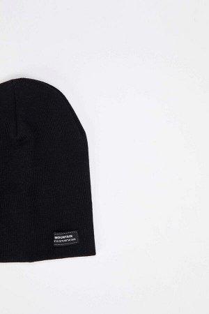 шапка Размеры модели: рост: 1,87 грудь: 90 талия: 71 Надет размер: STD  Акрил 50%, Хлопок 50%