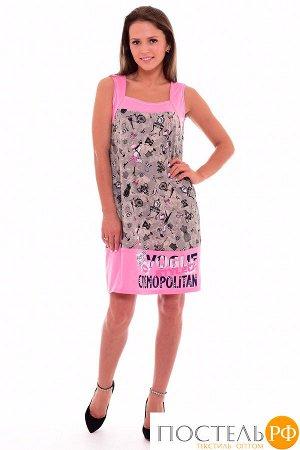 Сарафан Adrianah Цвет: Розовый (44). Производитель: Новое Кимоно