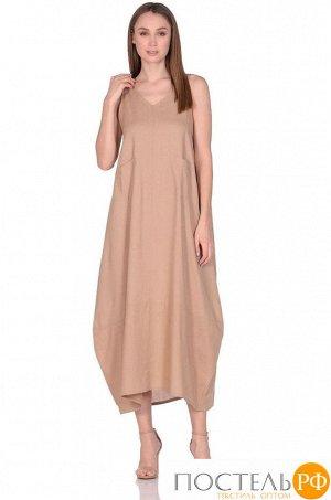 Платье женское №229 р-р: one size, цв. капучино