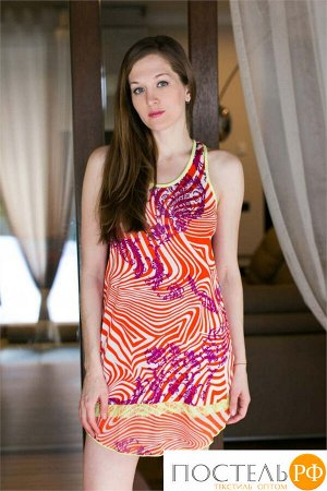 Платье Barnabas Цвет: Оранжевый (46-48). Производитель: PENYE MOOD