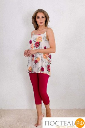 Комплект с лосинами Bea Цвет: Фуксия (46-48). Производитель: CATHERINE'S
