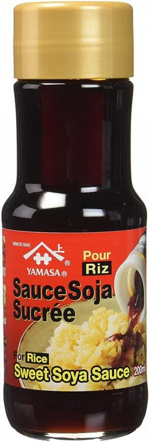 Yamasa Соевый соус сладкий  200мл  ст/б