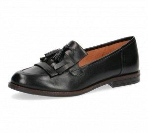 Туфли женские Caprice на 35 размер! (на стопу 22-23 см) лоферы нат кожа