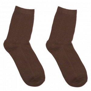 Носки Размер: 35 - 40 (22 - 25 см) Однотонные носки вязкой в рубчик  Материал:  85% хлопок 12% полиэфирное волокно 3% спандекс  Производитель: Китай