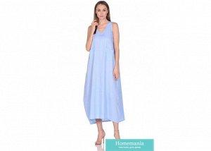 Платье женское №229 р-р one size, цв. голубой