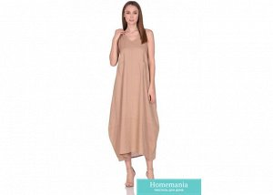Платье женское №229 р-р one size, цв. капучино