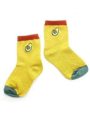 """Детские носки 1-3 года 10-14 см  """"Pastel"""" Авокадо"""