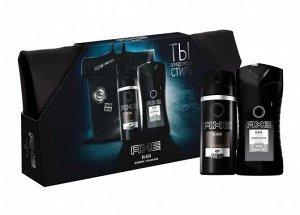 AXE подарочный набор BLACK Дезодорант аэрозоль, гель для душа + рюкзак 150+250 мл