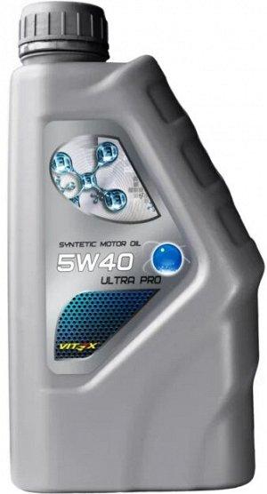 Cинтетическое моторное масло Vitex Ultra Pro 5W-40
