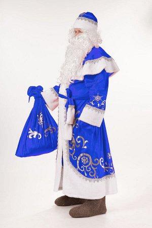 3005 к-18 Дед Мороз синий размер 182-54-56