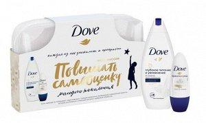 Dove подарочный набор Обещание себе 2020 Крем-гель для душа + антиперспирант 250 + 50 мл