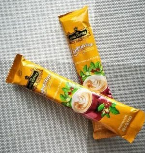 Вьетнамский растворимый кофе «King coffee » Капучино 1 пакетик - 20гр