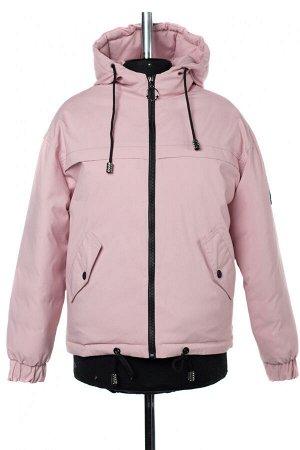 04-2638 Куртка демисезонная (синтепон 250) Плащевка розовый
