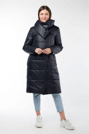 05-1882 Куртка женская зимняя (термофин 250) Плащевка темно-синий