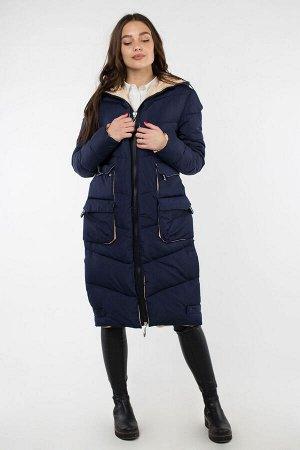 05-1865 Куртка зимняя (Синтепон 300) Плащевка темно-синий