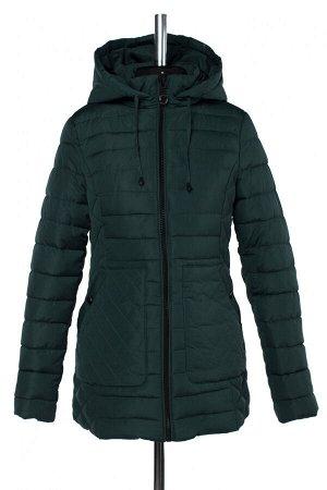 05-1859 Куртка зимняя (Синтепух 280) Плащевка темно-зеленый
