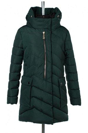 05-1855 Куртка зимняя (Синтепон 300) Плащевка темно-зеленый