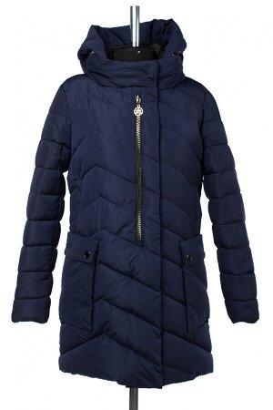 05-1854 Куртка зимняя (Синтепон 300) Плащевка темно-синий