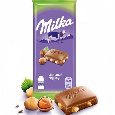 """Сладости 🍫для вашей радости☕️ — Шоколадные истории """"Милка"""" — Шоколад"""