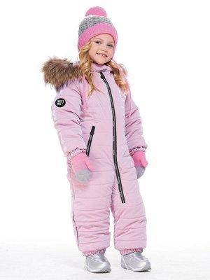 Комбинезон Комбинезон 8з2020 розовый  Сезон: ЗИМА Пол: . Цвет: розовый Ткань верха: Курточная с пропитками WR, PU (100% полиэстер) Подкладка: трикотаж (95% х/б, 5% лайкра) Температурный режим: от 0С д