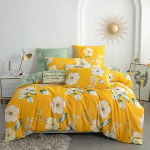 Комплект постельного белья Люкс-Сатин на резинке AR202