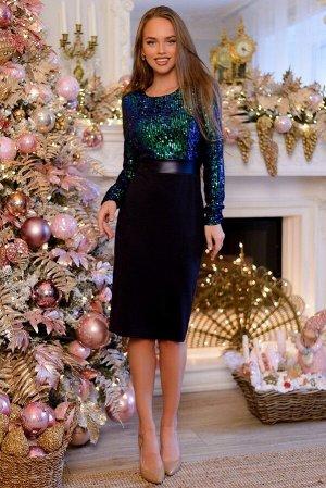 Платье Изысканное блестящее вечернее платье! Призвано превратить любую женщину в королеву! Именно поэтому выбор платья - неотъемлемая часть любого торжества! Гламурный фасон со сверкающим декором, ши