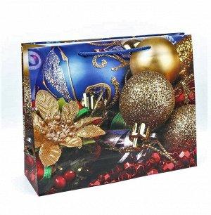 Новый год Пакет подарочный микс