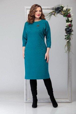 Платье Michel chic 2028 тёмно-голубой