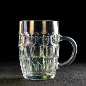 Кружка для пива «Высшая лига», 0,5 л, цвет хамелеон