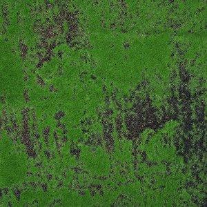 Мох искусственный. декоративный. полотно 1 ? 1 м. рельефный. с щепой. зелёный