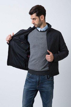 Демисезонная мужская стеганая куртка Hermzi, цвет Темно-синий