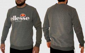 Серая мужская толстовка Ellesse – чистый стиль от итальянской марки спортивной одежды №74