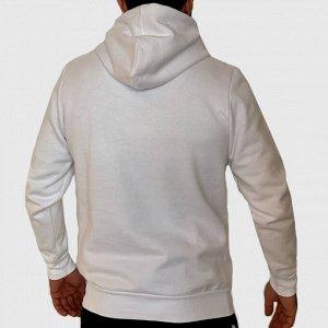 Мужская белая толстовка Yeshxycn – круче тандема, чем белый + черный, просто не бывает  №137