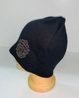 Шапка Стильная шапка с пайетками  №1551