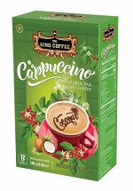 King Coffee Кофе растворимый Cappuccino Coconut Flavor