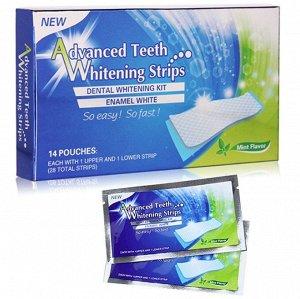 Расширенные полоски для отбеливания зубов Advanced teeth whitening strips