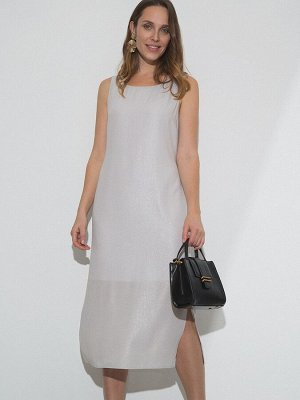 Однотонное платье с разрезами PL1136/ludwig