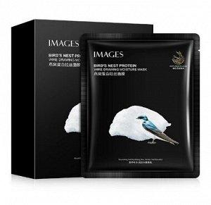 Омолаживающая маска Images Birds Nest protein с экстрактом ласточкиного гнезда, 25 г