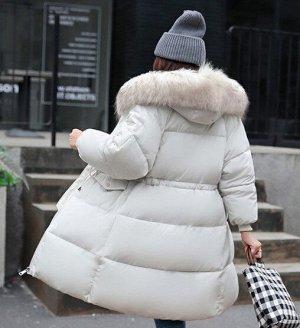 Женская  куртка, цвет белый